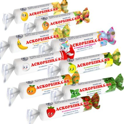 Ascorbinka Kyiv Vitamin Plant