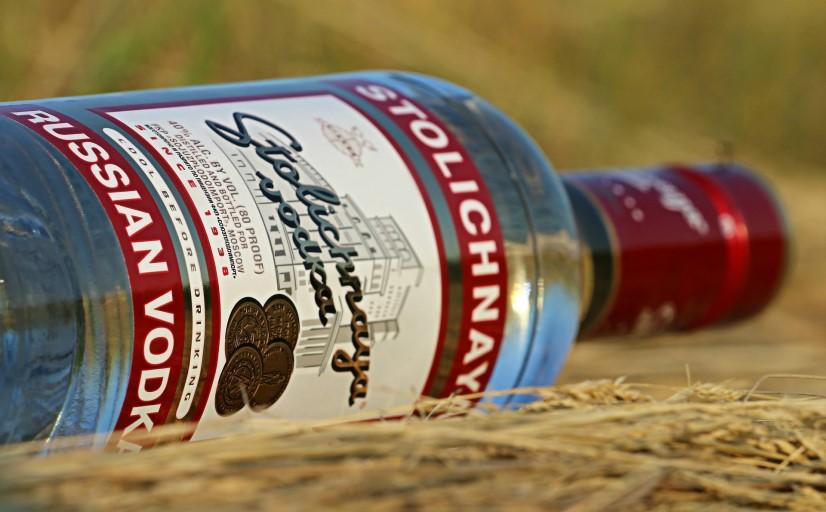 Stolichnaya vodka in Benelux countries